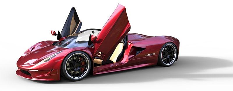 TranStar Dagger GT: supersport s výkonem 2000 koní: - fotka 10