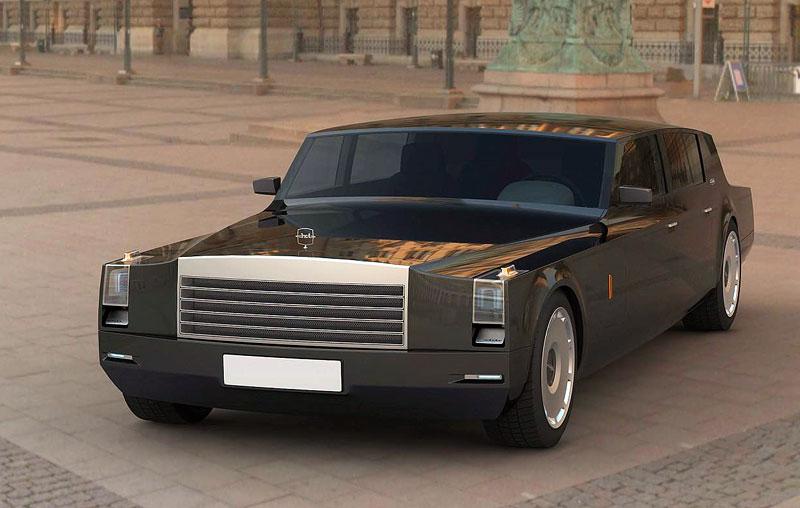 ZiL Concept: budoucnost prezidentských limuzín: - fotka 7