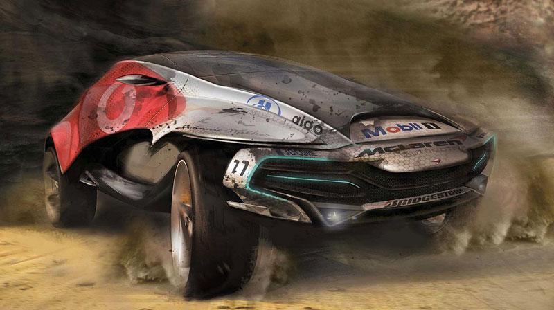 McLaren: studie crossoverů pro rok 2020 (+videa): - fotka 11