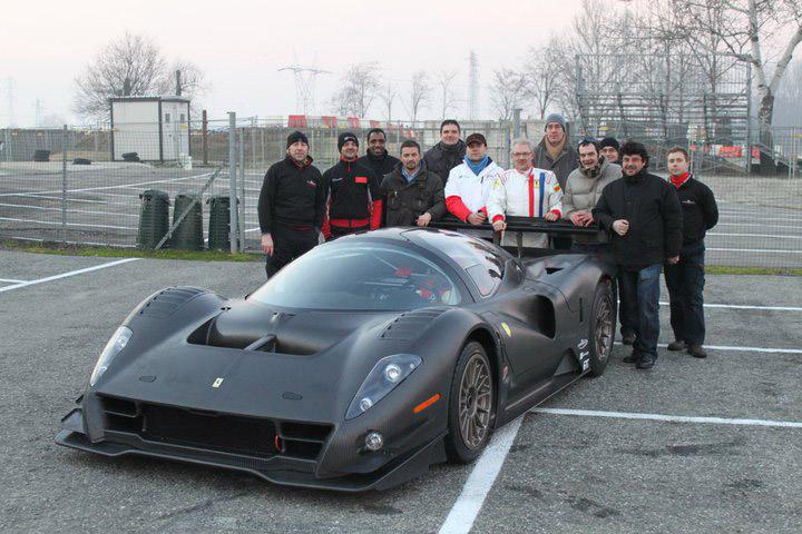 Ferrari P4/5 Competizione poprvé na trati: - fotka 9