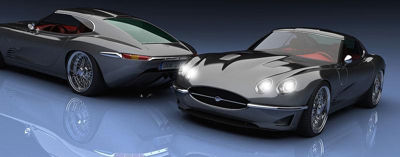 Growler E-Concept: Jaguar E Type 50 let poté: - fotka 6