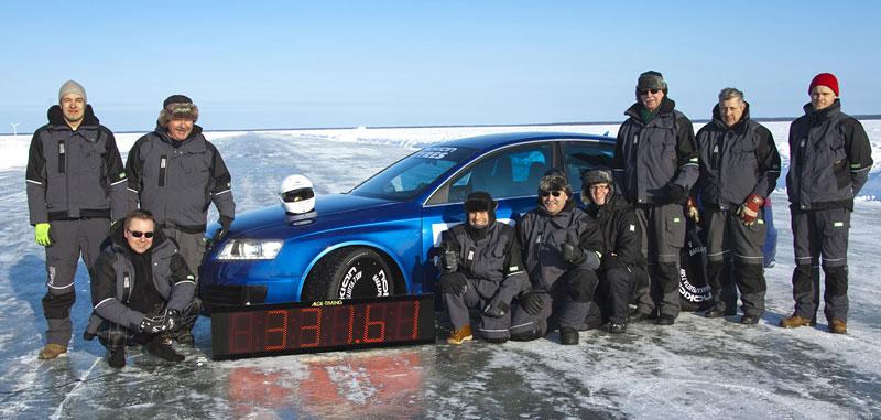Nokian Tyres: rychlostní rekord Bentleye na ledu překonán!: - fotka 10