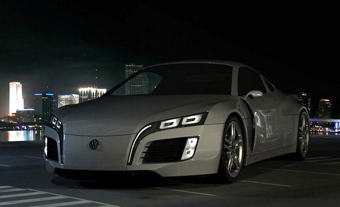 Volkswagen Concept Sports Car: kreace co přijíždí až z Kyrgyzstánu: - fotka 10