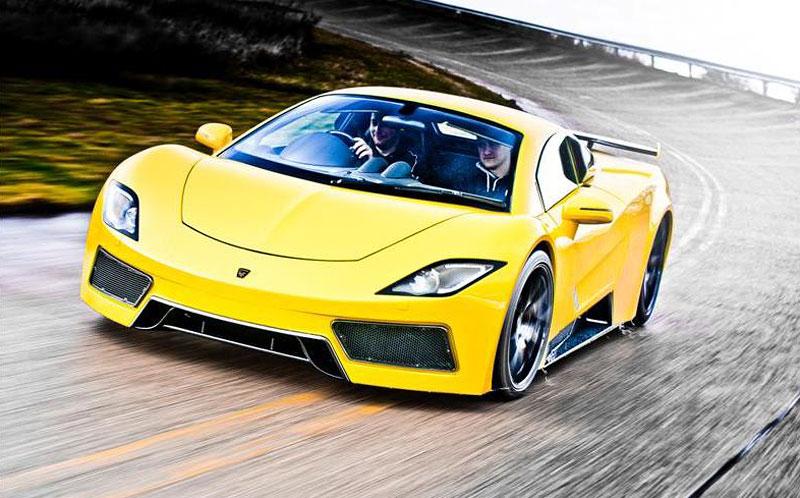 Arash AF8: Britský supersport se 7,0 V8 (410 kW): - fotka 9