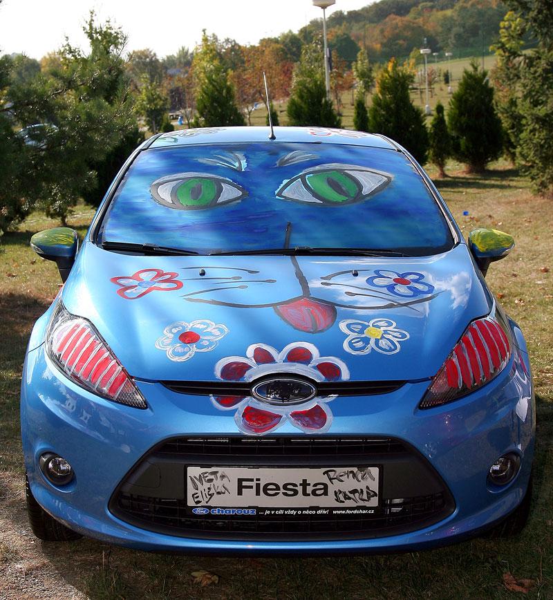 Missky za volantem Fordu Fiesta: - fotka 41