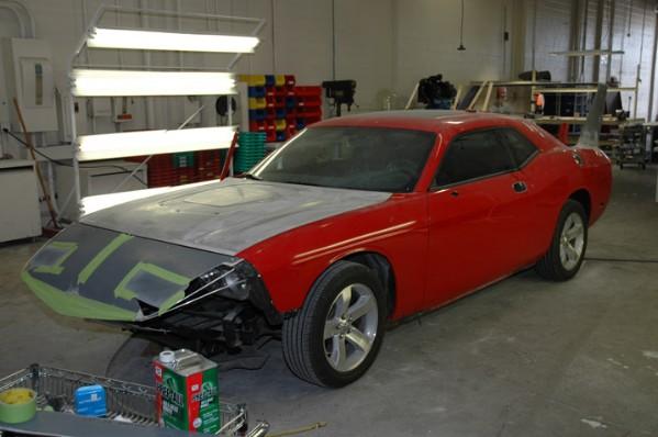 HPP Dodge Challenger Daytona Concept: - fotka 18
