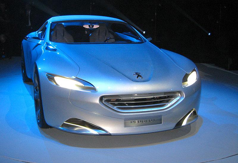 Koncept SR1: nová image Peugeotu přichází: - fotka 32