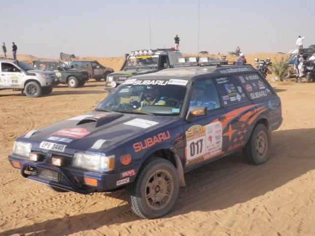 Reportáž: Rallye Budapest – Bamako 2010: - fotka 26