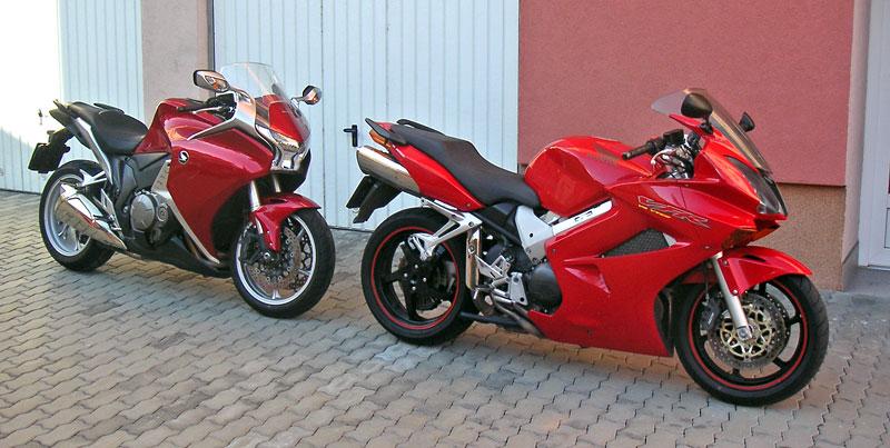Dueltest - Honda VFR1200F vs. VFR800VTEC (generační srovnání): - fotka 10
