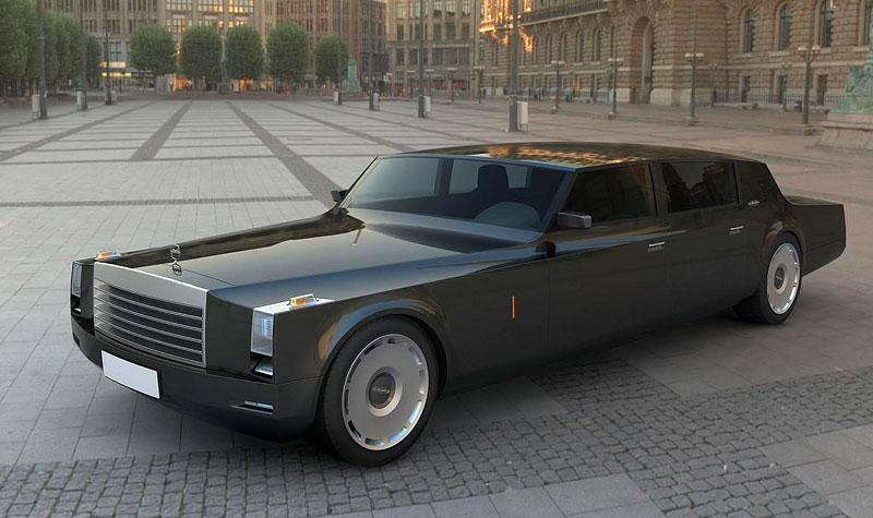 ZiL Concept: budoucnost prezidentských limuzín: - fotka 8