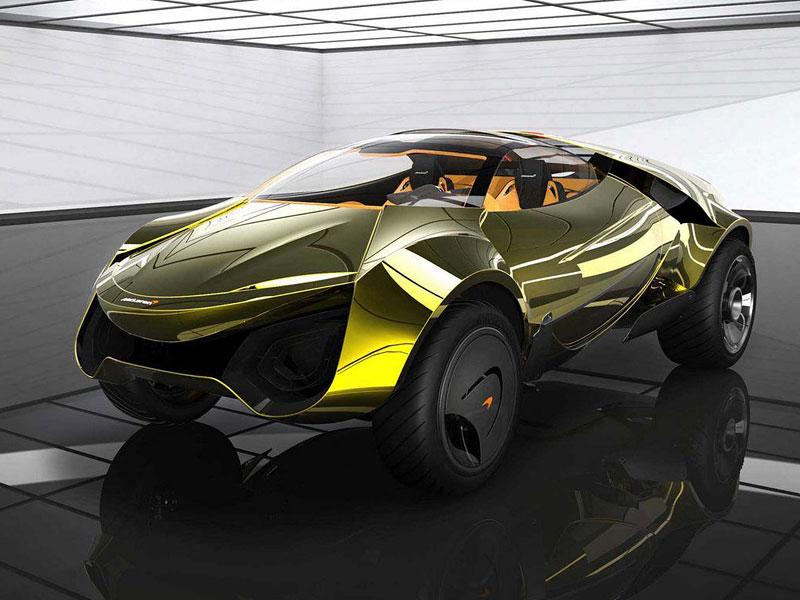 McLaren: studie crossoverů pro rok 2020 (+videa): - fotka 12