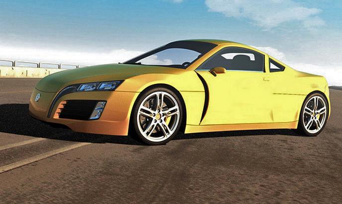 Volkswagen Concept Sports Car: kreace co přijíždí až z Kyrgyzstánu: - fotka 11