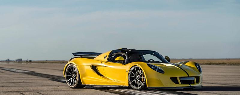 Hennessey Venom GT Spyder je nejrychlejší kabriolet na světě: - fotka 11