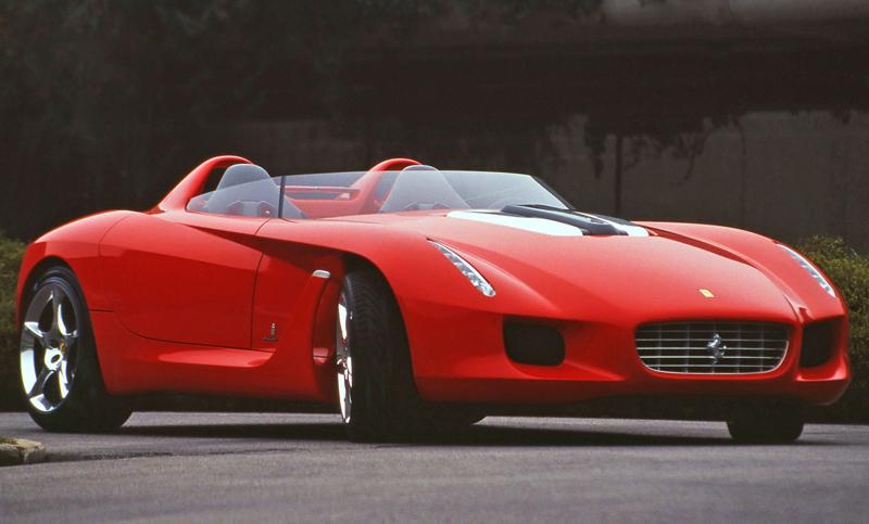 Pod lupou: Pininfarina Ferrari Rossa (2000) - Speedster k narozeninám: - fotka 8