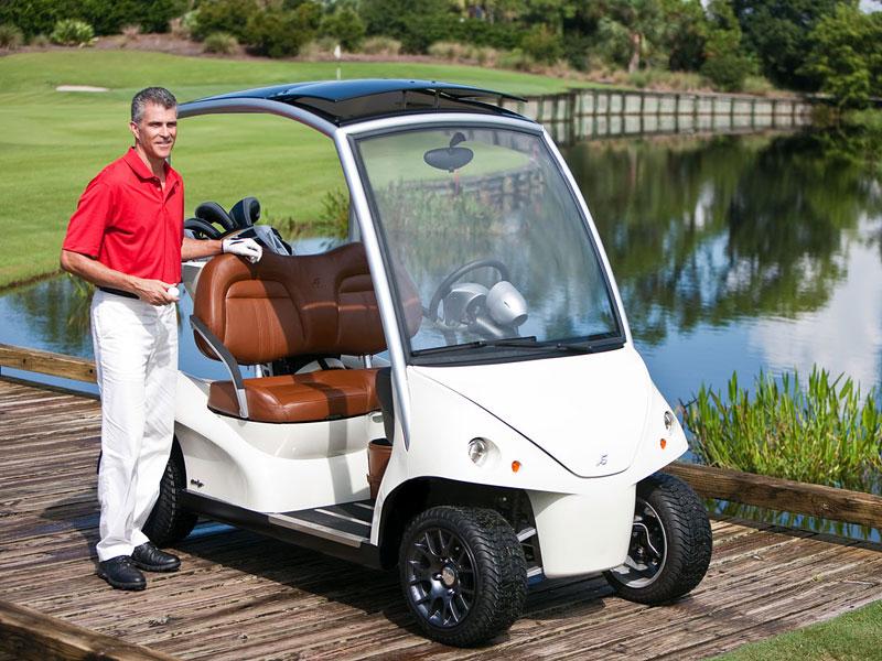 Garia: luxusní vozík pro milovníky golfu: - fotka 20
