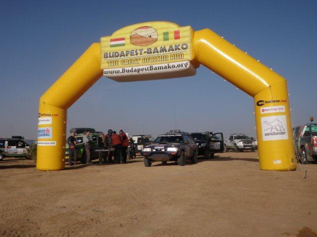 Reportáž: Rallye Budapest – Bamako 2010: - fotka 27