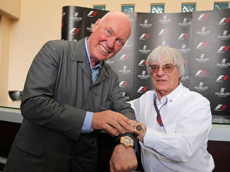 Hublot se stal oficiálním hodinářským partnerem formule 1: - fotka 8