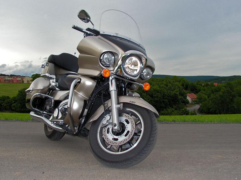 Test: Kawasaki VN1700 Voyager a srovnání s Harley-Davidson Electra Glide: - fotka 16
