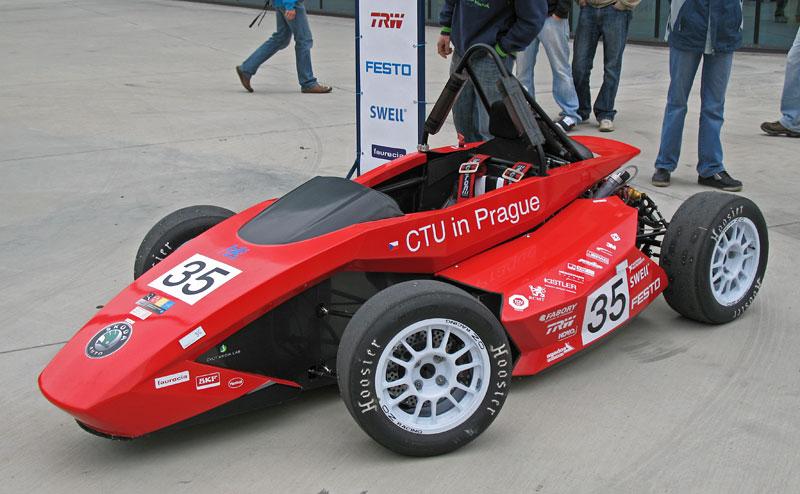 CTU CarTech FS.02: Studentská formule z pražského ČVUT: - fotka 12