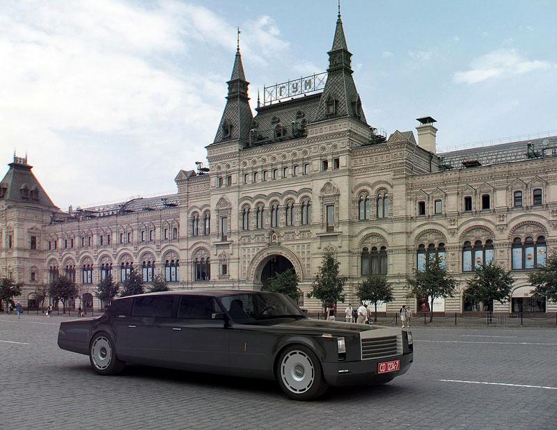 ZiL Concept: budoucnost prezidentských limuzín: - fotka 9