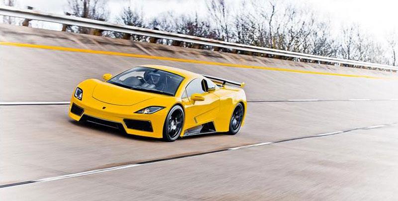 Arash AF8: Britský supersport se 7,0 V8 (410 kW): - fotka 11