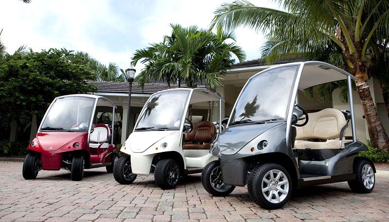 Garia: luxusní vozík pro milovníky golfu: - fotka 21