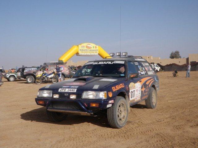 Reportáž: Rallye Budapest – Bamako 2010: - fotka 28