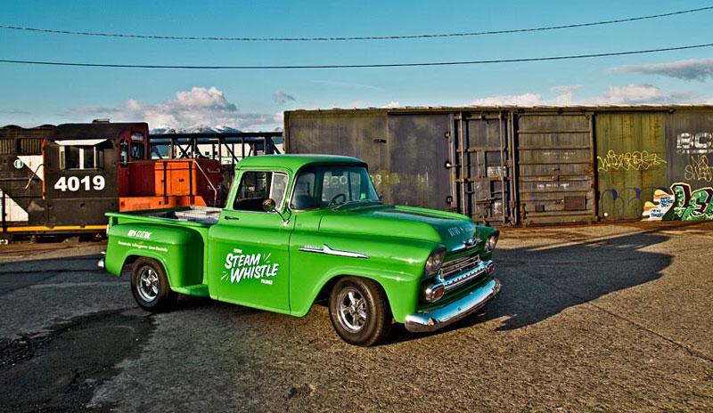 Retro Electro: 1958 Chevrolet Apache na elektřinu (video): - fotka 14