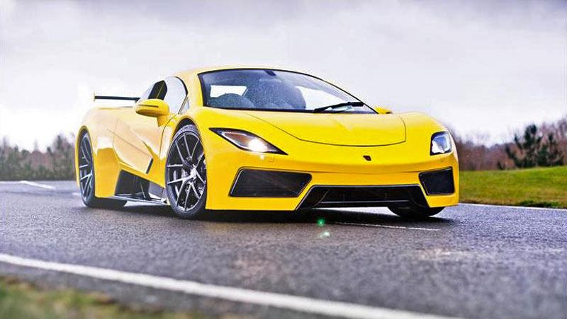 Arash AF8: Britský supersport se 7,0 V8 (410 kW): - fotka 12