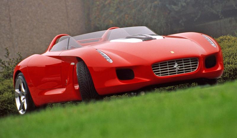 Pod lupou: Pininfarina Ferrari Rossa (2000) - Speedster k narozeninám: - fotka 9