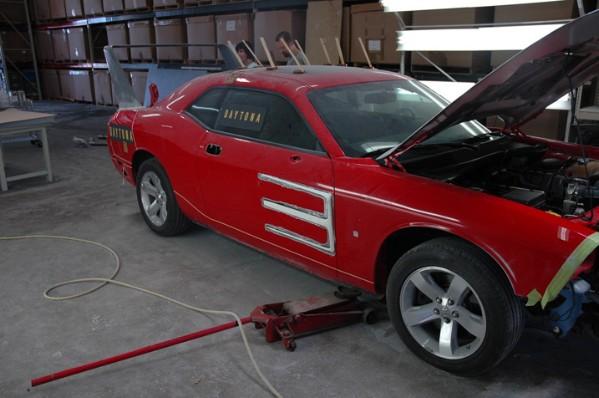 HPP Dodge Challenger Daytona Concept: - fotka 21
