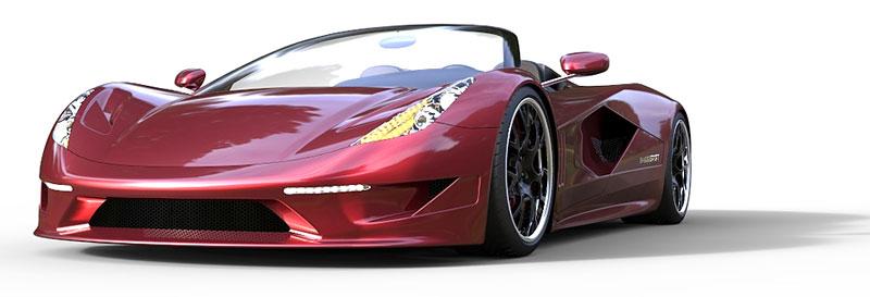 TranStar Dagger GT: supersport s výkonem 2000 koní: - fotka 12