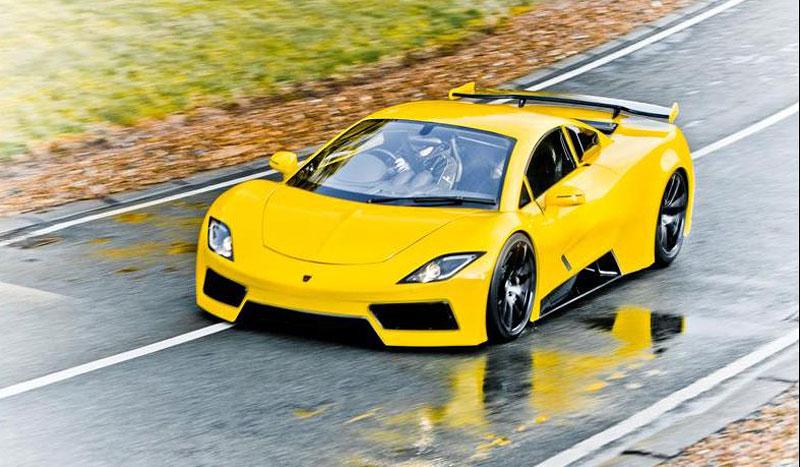 Arash AF8: Britský supersport se 7,0 V8 (410 kW): - fotka 13