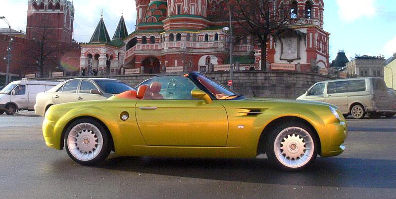 Cardi Body II: dvoumístný roadster s technikou BMW: - fotka 7
