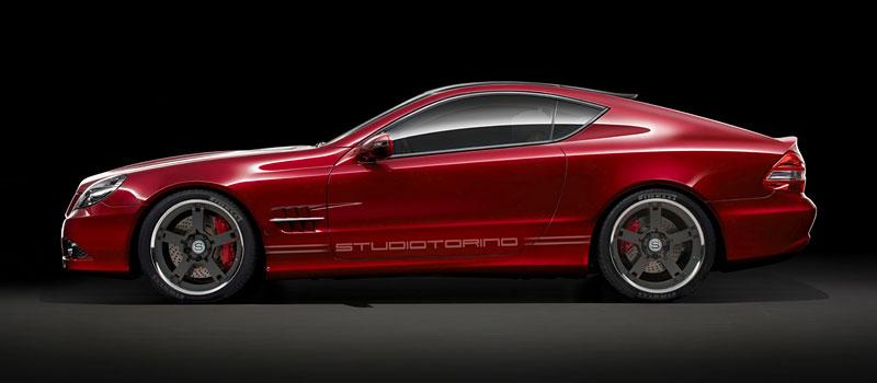 Studiotorino Coupetorino: nová střecha pro Mercedes-Benz SL: - fotka 2