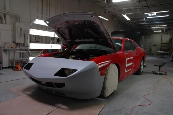 HPP Dodge Challenger Daytona Concept: - fotka 22