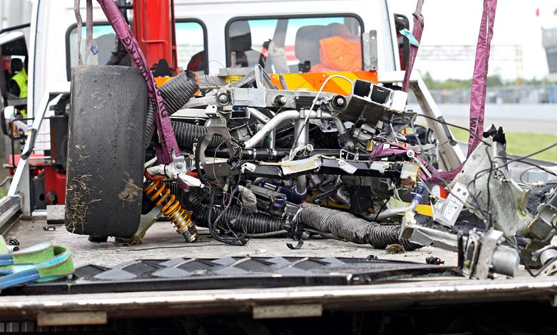 FIA GT: ošklivá havárie při závodě v Brně: - fotka 30