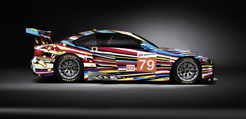 BMW Art Car na Le Mans: galerie na čtyřech kolech: - fotka 5