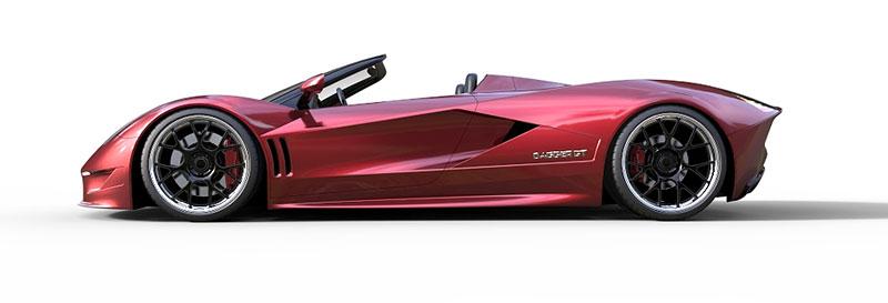 TranStar Dagger GT: supersport s výkonem 2000 koní: - fotka 13