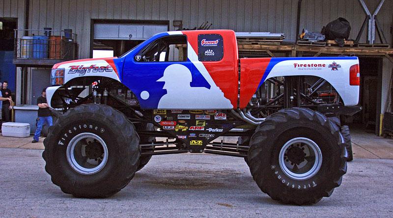 Bigfoot: po 35 letech z Fordu Chevroletem: - fotka 2