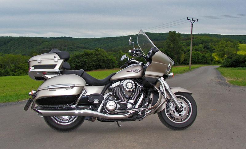 Test: Kawasaki VN1700 Voyager a srovnání s Harley-Davidson Electra Glide: - fotka 18
