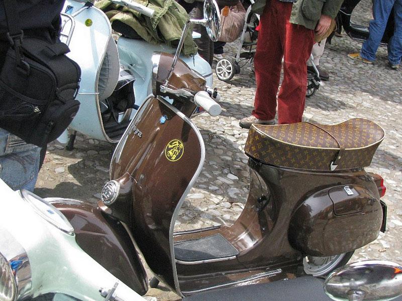 Piaggio Vespa - skútr dvakrát jinak: - fotka 6