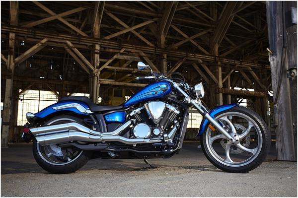 Yamaha Stryker 1300 - nový custom bike pro rok 2011: - fotka 3