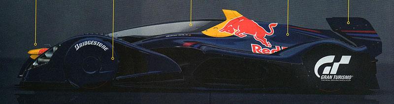 Red Bull X1 odhalen: rakouský 1483koňový projektil pro závodní okruhy: - fotka 2
