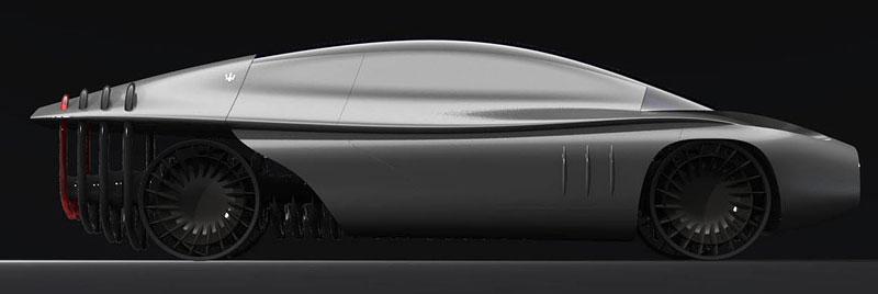 Maserati Quattroporte 2030: retro forever: - fotka 5