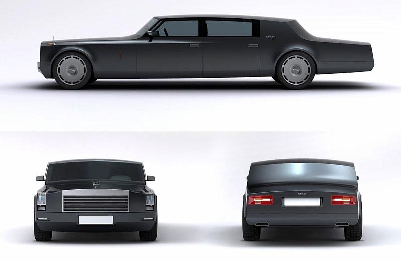ZiL Concept: budoucnost prezidentských limuzín: - fotka 11