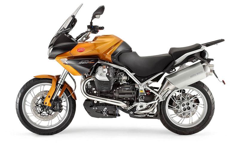 Moto Guzzi 2011 – Stelvio v novém kabátě: - fotka 5