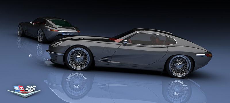 Growler E-Concept: Jaguar E Type 50 let poté: - fotka 7
