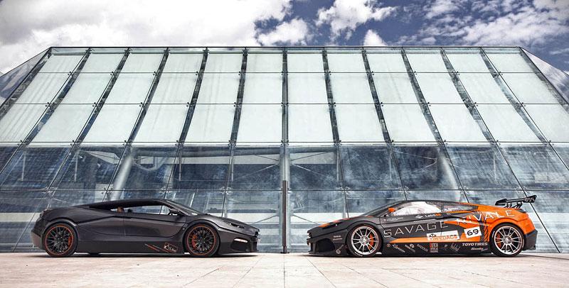 Savage Rivale GTR pózuje v Monaku: - fotka 6