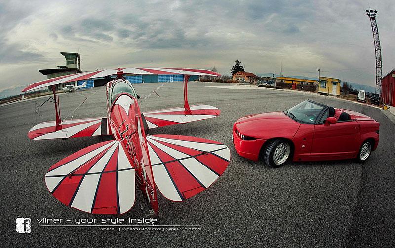 Vilner Il Mostro: Alfa Romeo RZ jako ze škatulky: - fotka 11